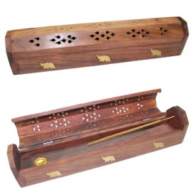 Shesham Wooden Incense Holder