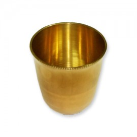Pooja Glass In Brass