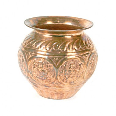 Designer Kalash In Copper