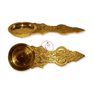 Camphor Aarti Lamp in Brass