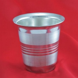Pooja Glass In German Silver
