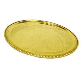 Elegant Pooja Thali In Brass