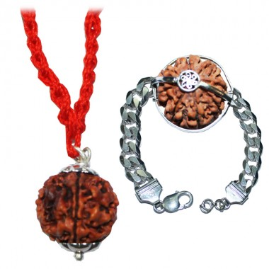 Rudraksha Sandhi for Riddhi Siddhi Ganesh Blessings
