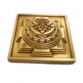 Meru Shree Yantra In Brass