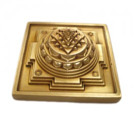 Meru Shree Yantra In Brass