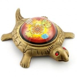 Shree Yantra On Tortoise