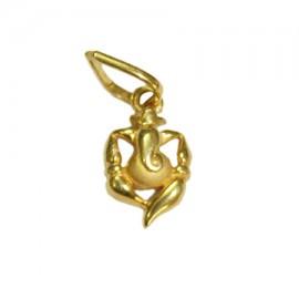 Vigneshwara Ganesha Locket In Pure Gold