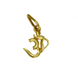 Aum Locket In Pure Gold