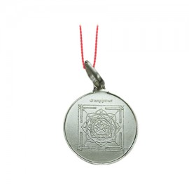 Mahamritunjaya Yantra Locket In Silver