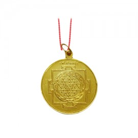 Shree Yantra Locket In Copper