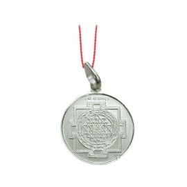 Shree Yantra Locket - Silver