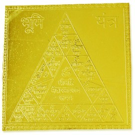 Bhumi yantra - 3x3 inches